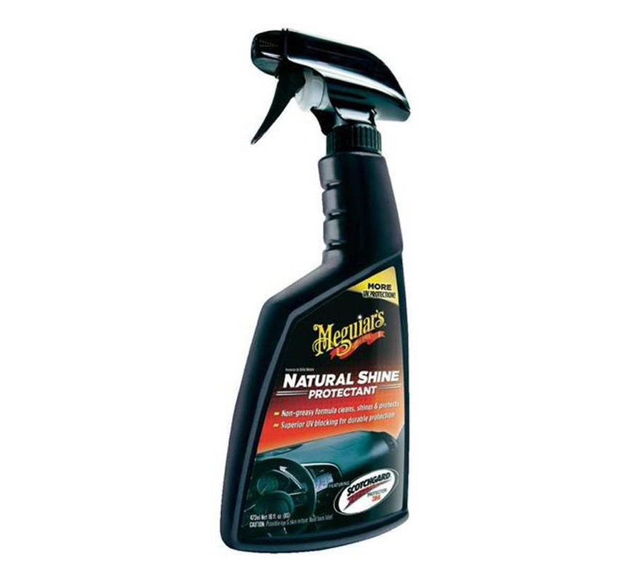 Meguiars Natural Shine Vinyl & Rubber Protectant Spray 473ml