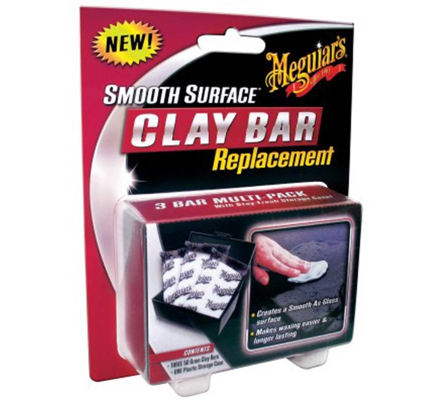 Meguiars Smooth Surface Clay Bar Replacement 50g