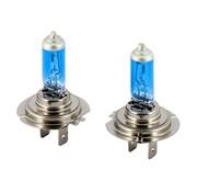 Autostyle SuperWhite Blauw H7 55W/12V/4200K Halogeen Lampen, set a 2 stuks (E13)