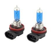 Autostyle SuperWhite Blauw H8 35W/12V/4800K Halogeen Lampen, set a 2 stuks (E4)