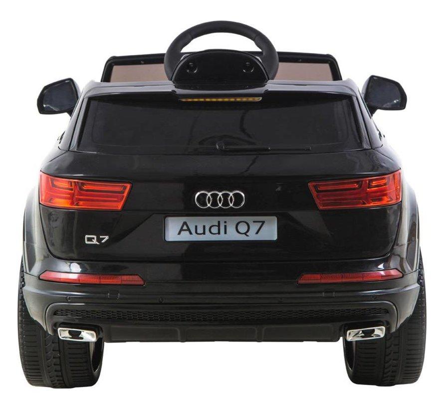 Accu-Auto Audi Q7 Zwart - 12V - incl. MP3 en afstandsbediening - vanaf 3 jaar