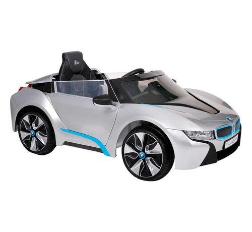 OSP Accu-Auto BMW i8 Zilver - 12V - incl. MP3 en afstandsbediening - vanaf 3 jaar