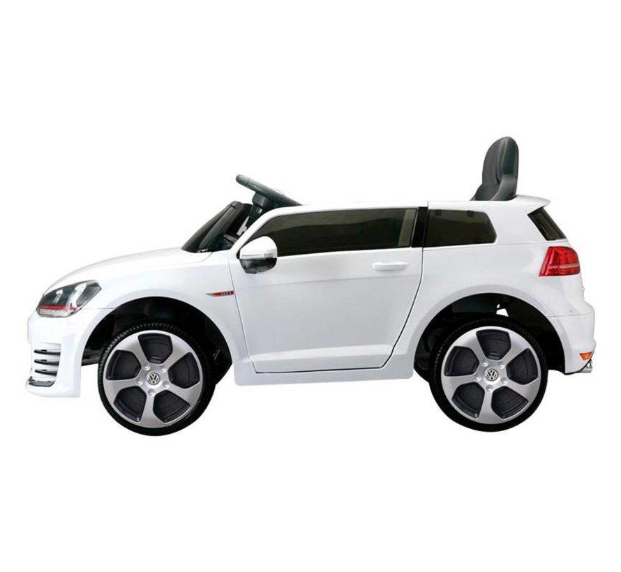 Accu-Auto Volkswagen Golf VII GTi Wit - 12V - incl. SD en afstandsbediening - vanaf 3 jaar