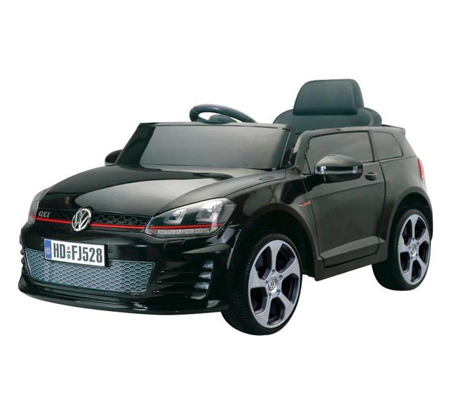 Accu-Auto Volkswagen Golf VII GTi Zwart - 12V - incl. SD en afstandsbediening - vanaf 3 jaar