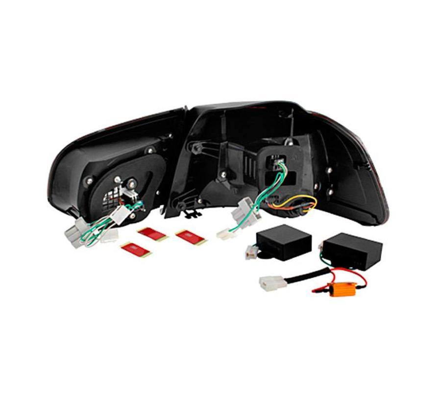 Set R-Look LED Achterlichten Volkswagen Golf VI 2008-2012 excl. Variant - Rood/Helder