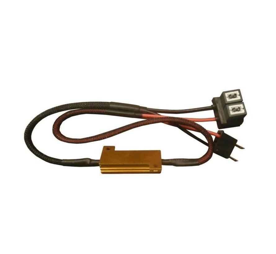 Mistlicht H8 Canbus kabel 50w