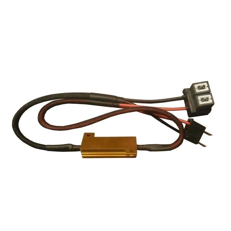 Xenonlamp Mistlicht H8 Canbus kabel 50w