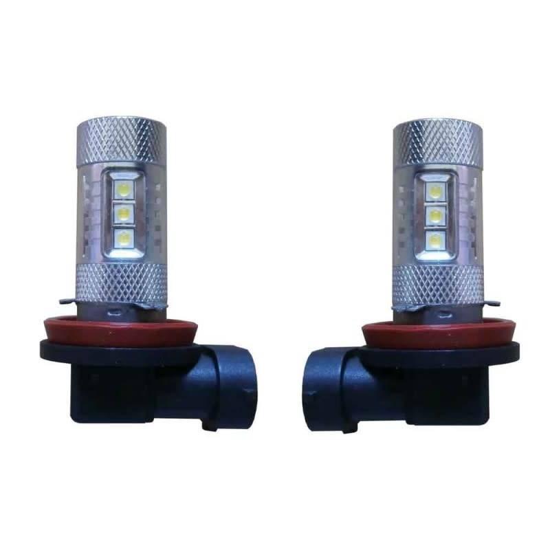 Xenonlamp Mistlicht Canbus LED vervangingslamp 50w H8