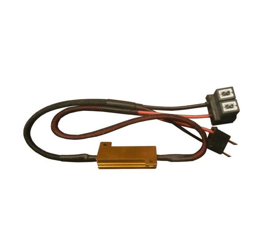 Mistlicht HB4 Canbus kabel 50w