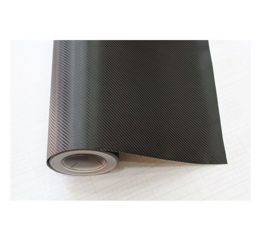 3D Carbonfolie 152x30cm Zwart, zelfklevend