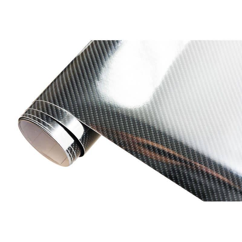 Autostyle 5D Carbonfolie 152x200cm Glanzend Zwart, zelfklevend