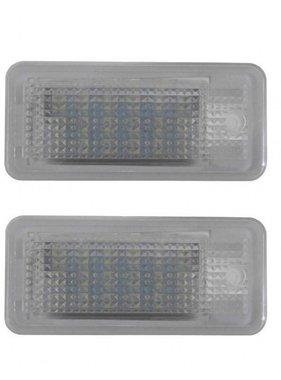 Xenonlamp LED kenteken verlichting unit geschikt voor Audi A3, A4, A6, A8 en Q7