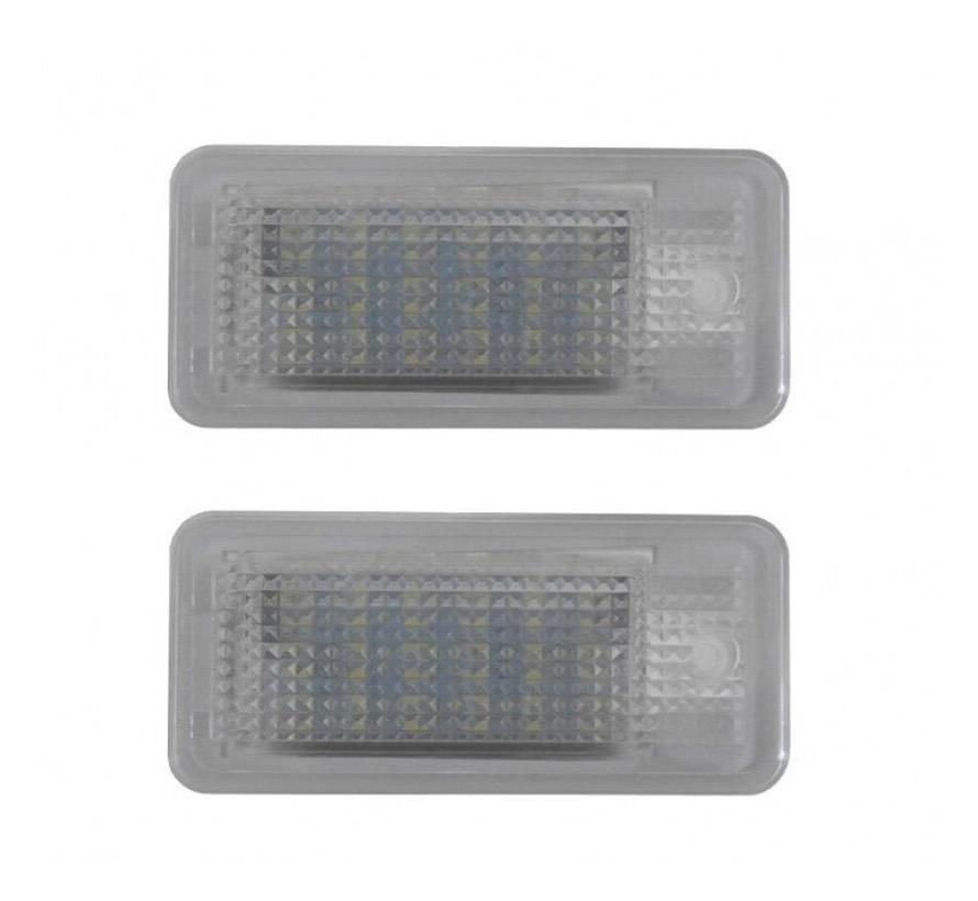 LED kenteken verlichting unit geschikt voor Audi A3, A4, A6, A8 en Q7