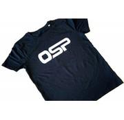"""OSP T-shirt OSP """"Logo OSP"""" ZWART"""
