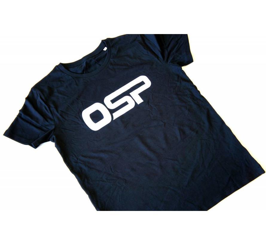 """T-shirt OSP """"Logo OSP"""" ZWART"""
