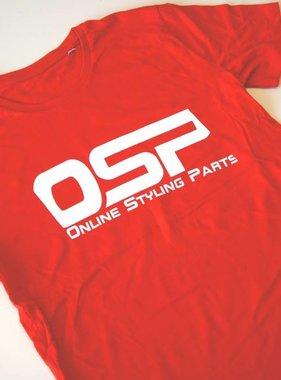 "OSP T-shirt OSP ""CARGUY"" ROOD"