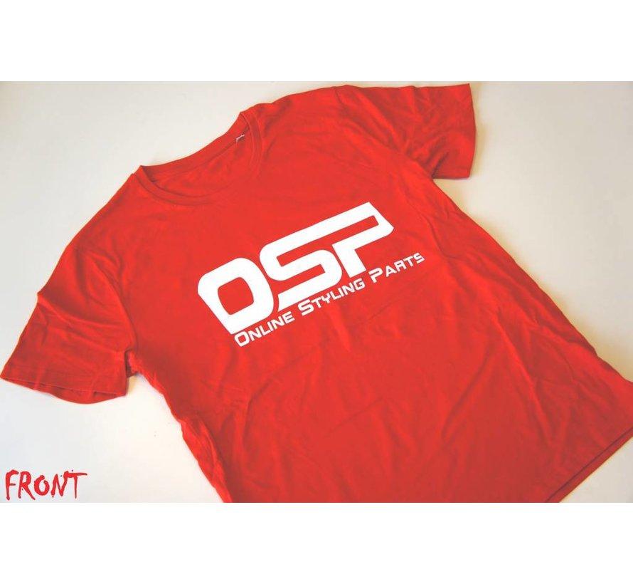 "T-shirt OSP ""CARGUY"" ROOD"