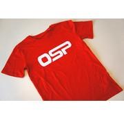 """OSP T-shirt OSP """"Logo OSP"""" ROOD"""