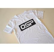 "OSP T-shirt OSP ""KADER ZWART"" WIT"