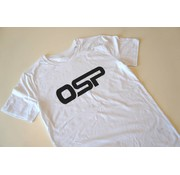 "OSP T-shirt OSP ""Logo OSP"" WIT"