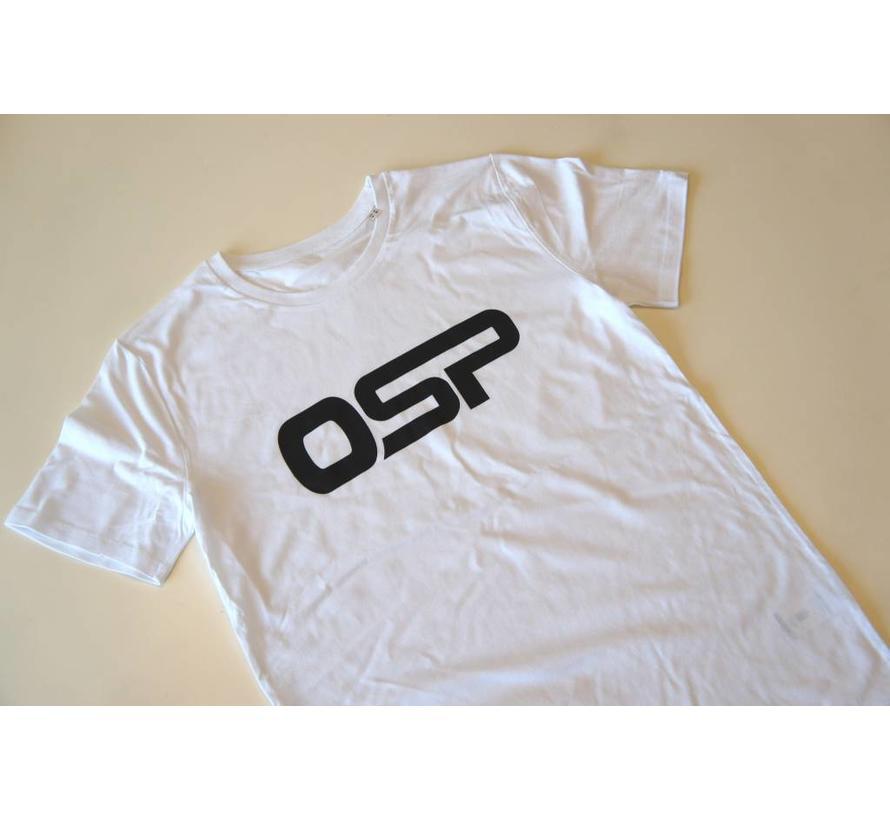 "T-shirt OSP ""Logo OSP"" WIT"