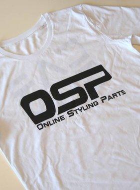 "OSP T-shirt OSP ""CARGUY"" WIT"