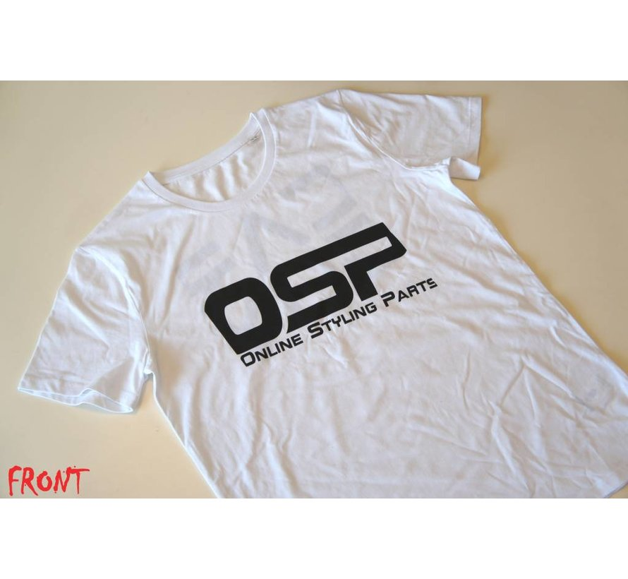 "T-shirt OSP ""CARGUY"" WIT"