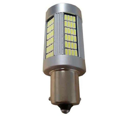 Xenonlamp Canbus HP LED Achteruitrijlamp BA15S-Wit per stuk