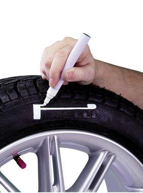 Autostyle Bandenstift 'Tyre-Marker' - Wit