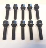 ST suspensions Wielbout M14x1,25x43 Conisch 60graden black (10 stuks)