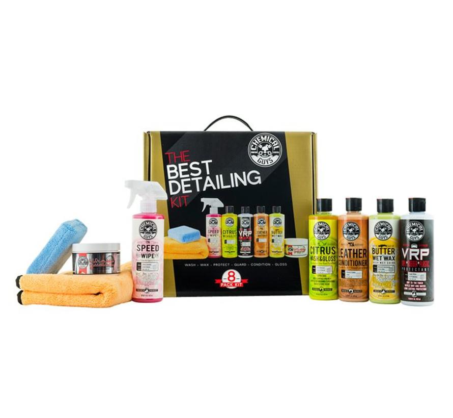 The best detailing kit (8 items)