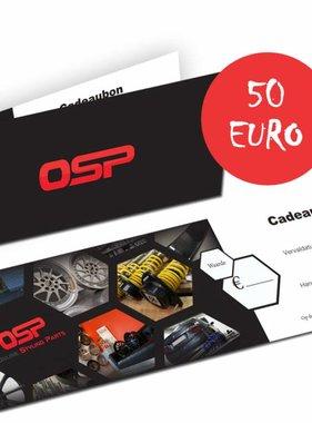 OSP Cadeaubon 50 euro