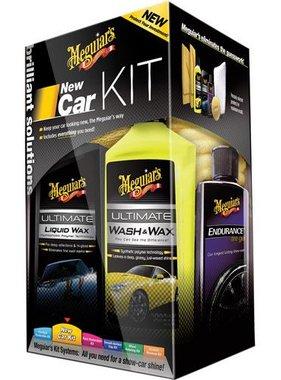 Meguiars Meguiars New Car Kit (Ultimate Wash&Wax/Ultimate Wax/Endurance High Gloss/Accessoires)