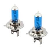 Autostyle SuperWhite Blauw H4 60-55W/12V/4800K Halogeen Lampen, set a 2 stuks (E13)