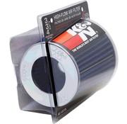 K&N filters K&N RG-Serie universeel vervangingsfilter met 3 aansluitdiameters Blauw (RG-1001BL)