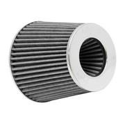K&N filters K&N RG-Serie universeel vervangingsfilter met 3 aansluitdiameters Wit (RG-1001WT)