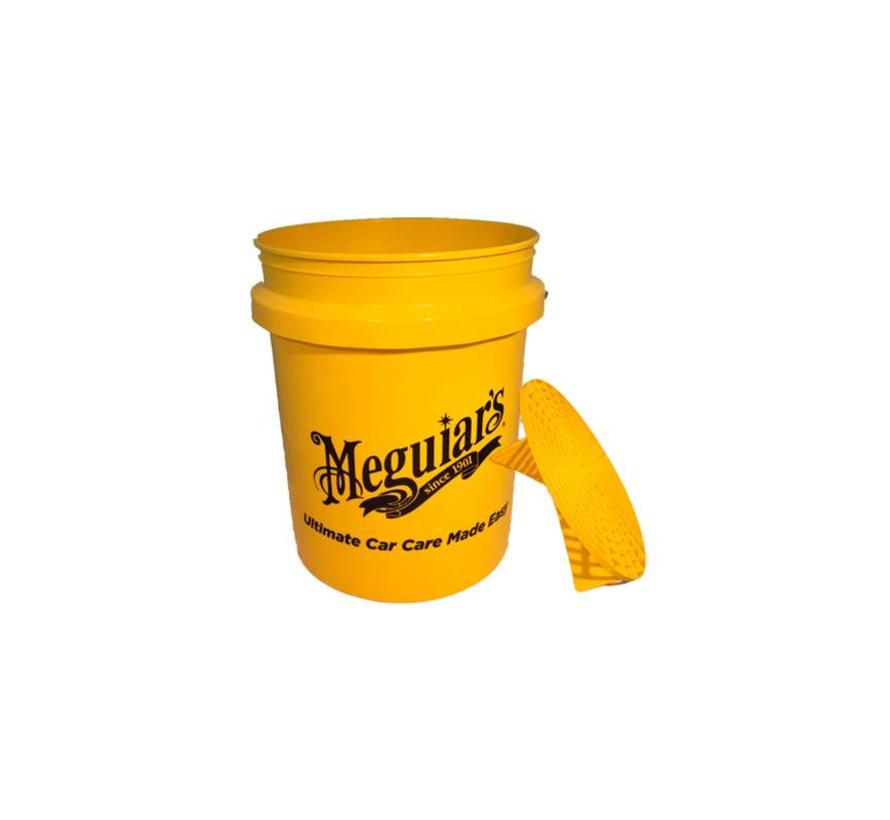 Meguiars Yellow Bucket (excl. Grit Guard ME X3003) - Diameter 290mm