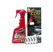 Meguiars Meguiars Quik Clay Starter Kit (50g Klei/473ml Quik Detailer)