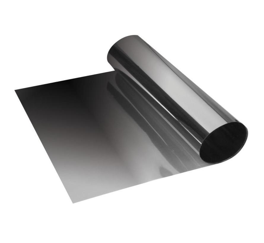 Foliatec Sunvisor zonneband zwart (metalised) 19x150cm
