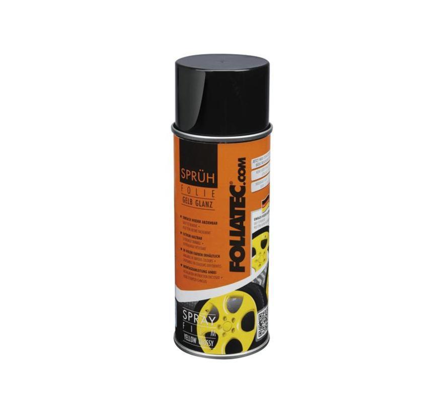 Foliatec Spray Film (Spuitfolie) - geel glanzend 1x400ml