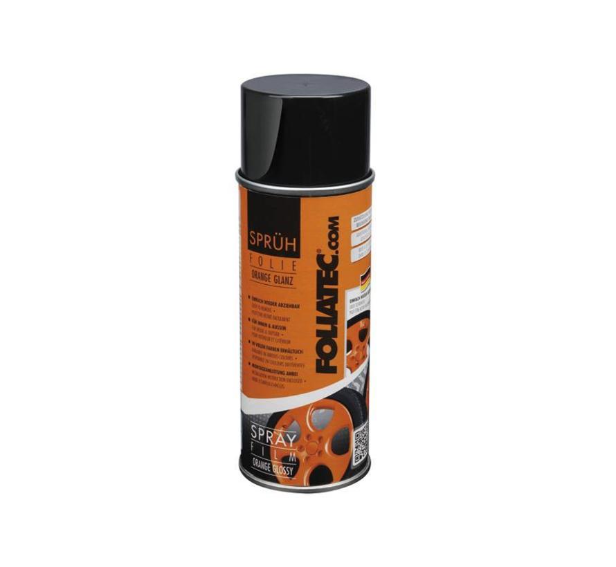 Foliatec Spray Film (Spuitfolie) - oranje glanzend 1x400ml