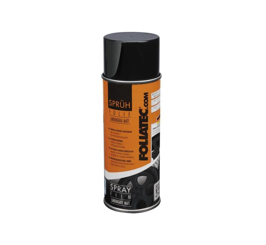 Foliatec Spray Film (Spuitfolie) - carbongrijs mat 1x400ml