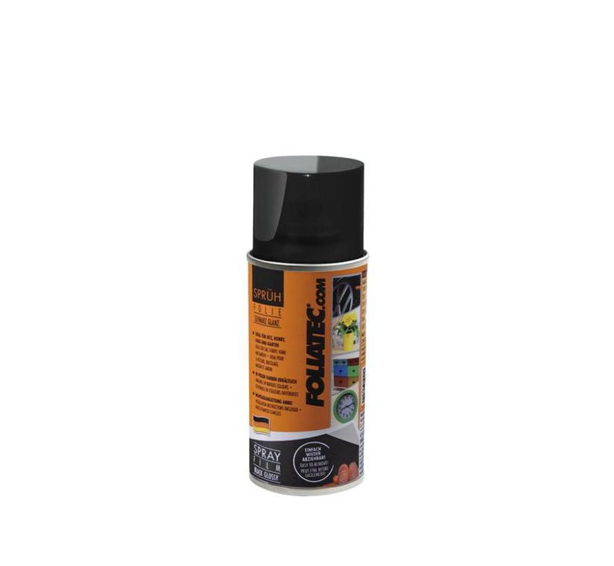 Foliatec Spray Film (Spuitfolie) - zwart glanzend 1x150ml