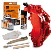 Foliatec Foliatec Remklauwlakset - Performance Rood Glanzend - 3 Komponenten