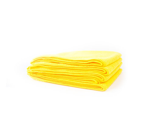 Chemical Guys Chemical Guys – Yellow Workhorse Microfiber Towel 5pack