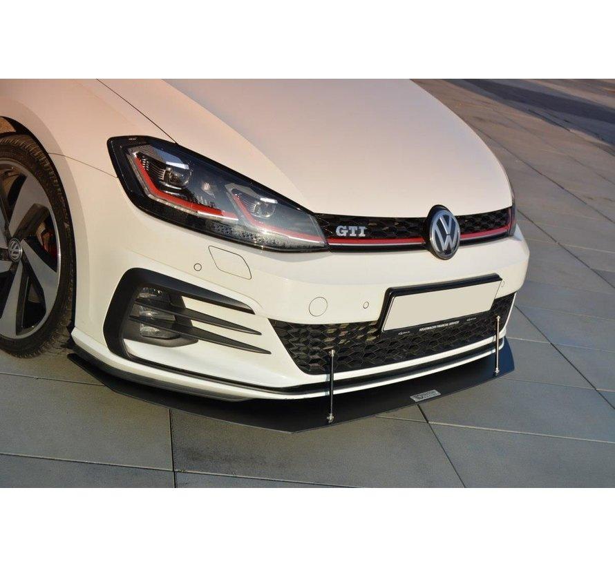 Maxton Design FRONT RACING SPLITTER V.1 VW GOLF 7 GTI FACELIFT