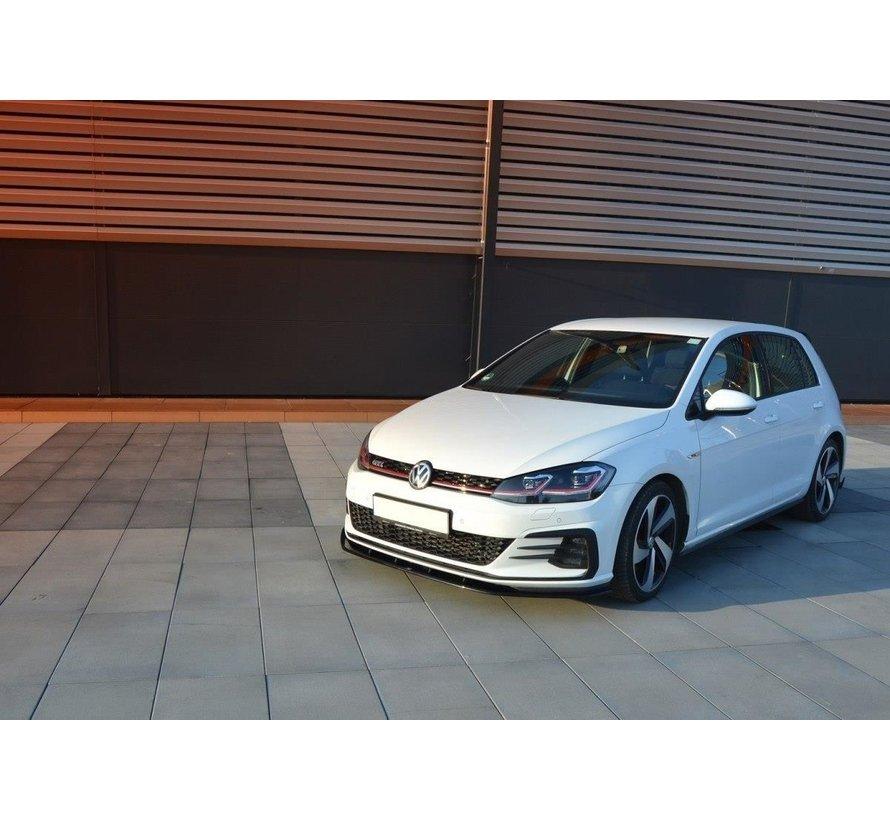 Maxton Design FRONT SPLITTER VW GOLF 7 GTI FACELIFT V.1