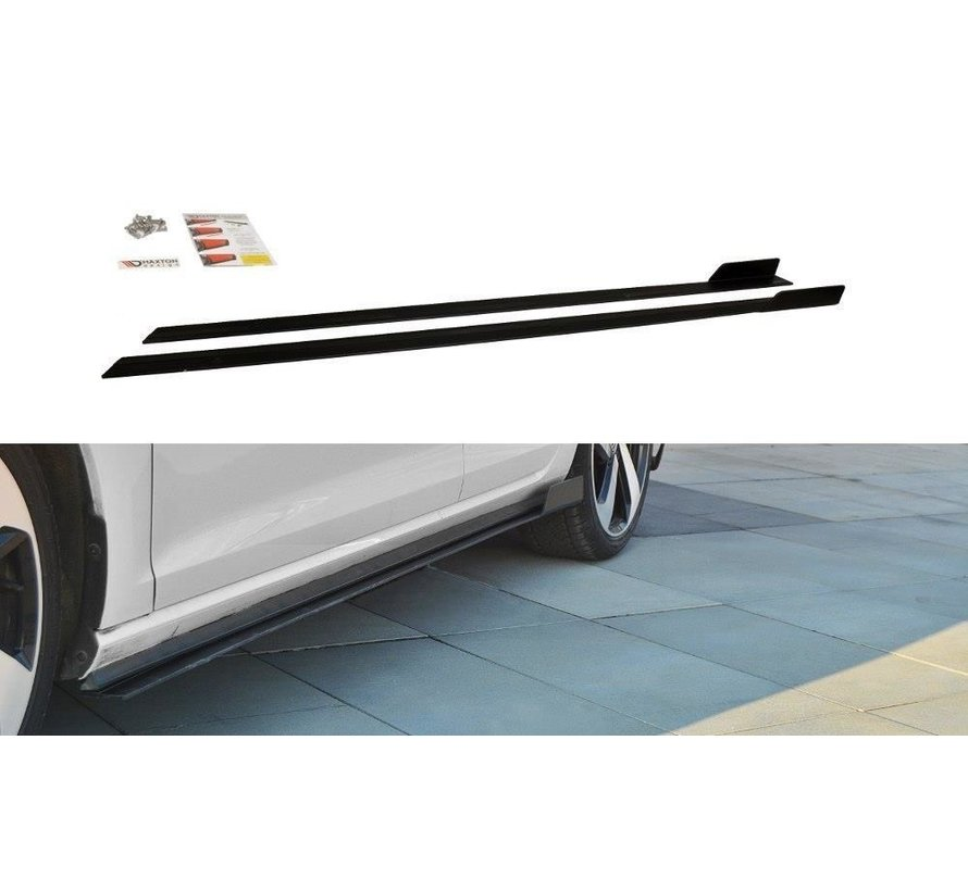 Maxton Design VW GOLF 7 GTI (FACELIFT) - RACING SIDE SKIRTS DIFFUSERS