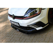 Maxton Design Maxton Design FRONT RACING SPLITTER VW GOLF 7 GTI CLUBSPORT