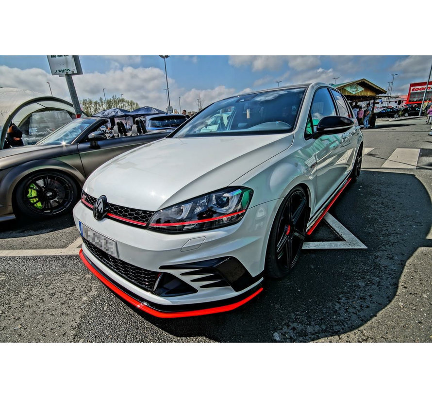 Maxton Design FRONT SPLITTER VW GOLF 7 GTI CLUBSPORT